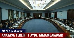 MKYK Sonucu: Anayasa teklifi 1 ayda tamamlanacak