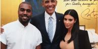 Obama ile Kardashian'ın fotosu olay yarattı