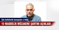 Öcalan'ın 10 maddelik yol haritası!