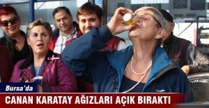 Prof. Dr. Karatay Bursa'da görenleri şaşırttı!