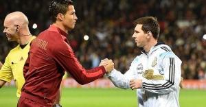 Ronaldo'dan Lionel Messi'ye destek!