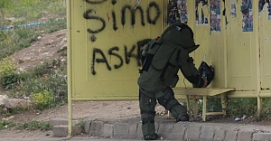 Sivas'ta şüpheli paket paniği