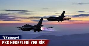 TSK: Hava harekatında 18 hedef imha...
