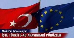 Türkiye - AB anlaşması önündeki 8 pürüz