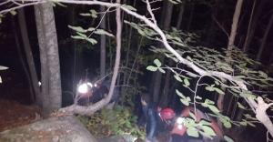 Uludağ'da yürüyüş yaparken kayboldular
