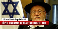 Yahudi hahamın Tevrat'tan haberi yok