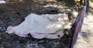 Yangına müdahale ederken yanarak öldü