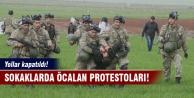 Yurtta Öcalan protestoları!