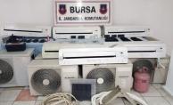 8 ilde klima çalan hırsızlar Bursa'da yakalandı