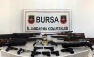 Bursa'da silah kaçakçılarına operasyon