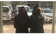 DEAŞ'ın 1.5 milyon ödüllü kadın teröristi yakalandı!