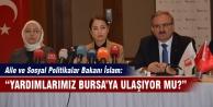 Bakan Ayşenur İslam Bursa'da konuştu!