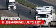 Kaleşnikoflu PKK'lılar yol kesti, kimlik sordu...