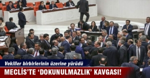 Meclis'te 'dokunulmazlık' kavgası!