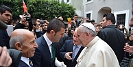 Mustafa Sarıgül'ün oğlu Papa'yla buluştu