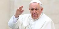 Papa sözlerinin arkasında durdu