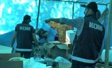 Ormandaki sahte içki imalathanesine nefes kesen operasyon