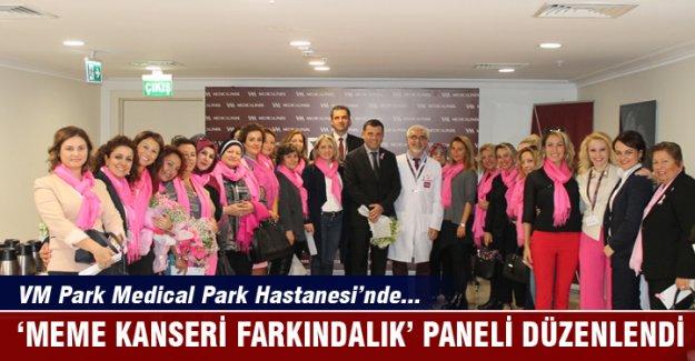 VM Medical Park Bursa Hastanesi'nde meme kanseri farkındalık paneli