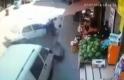 Bursa'da yaşlı adam böyle ölümden döndü! Metrelerce savruldu!