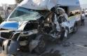 Bursa'da feci kaza! Kırmızı ışıkta 2 aracı böyle biçti!