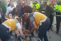 Bursa'da mendil satan çocuğa araç çarptı, Suriyeli babanın ilgisizliği şaşırttı