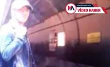 Marmaray'daki korkunç intiharın görüntüleri ortaya çıktı