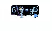Apollo 11'in Ay'a yolculuğu Doodle oldu!