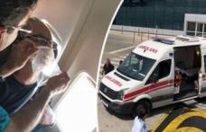 Türkiye-KKTC seferini yapan uçakta panik!