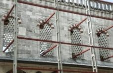 Sultanahmet Camii'nde tartışma yaratan restorasyon