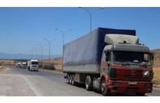 BM'den İdlib'e 36 TIR'lık insani yardım