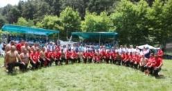 Çalı'da 600 pehlivan er meydanına çıktı! Kazanan Balaban