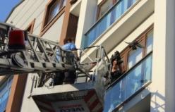 Bursa'da ilginç kurtarma operasyonu!