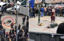 Kan donduran olay! Eşini cadde ortasında vurdu...