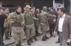 Orduevi önünde asker-polis gerginliği-İZLE