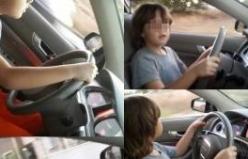 Bursa'da 10 yaşındaki çocuktan trafikte tehlikeli hareketler!