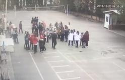 Bursa'da okulda panik!