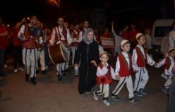 Bursa'da düğün gibi sahur