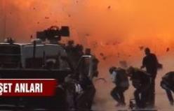 Batman-Diyarbakır yolunda bomba yüklü araç patlatıldı