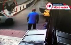 Trafikte tartıştığı kişiye çarpıp kaçtı! O anlar kameralarda