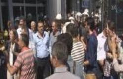 İş kazasını protesto eden işçiler SGK'yı bastı