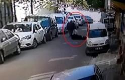 Sokak ortasında vahşet! Taciz ettiği kadının kocasını görünce...