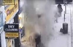 Bina bir anda çöktü: İnsanlar son anda kurtuldu