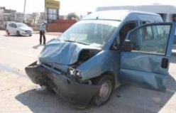Bursa'daki korkunç kaza kamerada!