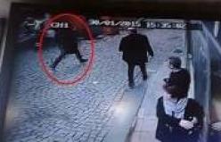 Taksim'de polis noktasına saldıran kadın böyle kaçtı! İZLE