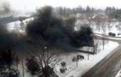 Meclis'te trafo patladı! Yangın çıktı...