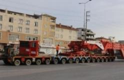 395 tonluk transmatörün 6,5 saatlik yolculuğu