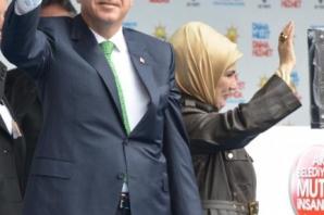 Erdoğan'ın Ağrı mitinginden çarpıcı kareler
