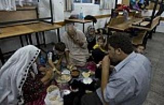 17 bin Gazzeli BM'ye sığındı