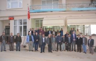 Başkan Ali Özkan, vatandaşlarla bir araya gelmeye...