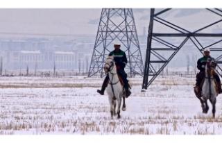 Kaçak elektriğe karşı atlı ekip!